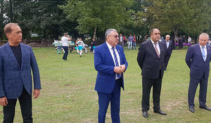 "Azerbaijan's Football Federations Association holds sports event for children in rural villages <span class=""color_red"">[PHOTO]</span>"