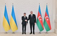 President Aliyev says Ukraine Azerbaijan's strategic partner