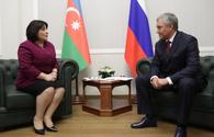 "Chairman of State Duma of Federal Assembly of Russia talks Azerbaijan's territorial integrity <span class=""color_red"">[PHOTO]</span>"