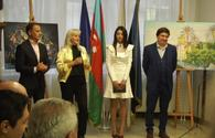 "Ukrainian artists display art works at Azerbaijan Culture Center <span class=""color_red"">[PHOTO]</span>"