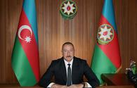 President Aliyev urges timeframe for withdrawal of Armenian troops