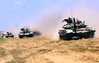 "Azerbaijani tank, missile-artillery units hold combat drills <span class=""color_red"">[PHOTO/VIDEO]</span>"