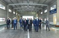 "Azerbaijani minister of economy reviews activity of industrial enterprises in Ganja <span class=""color_red"">[PHOTO]</span>"