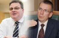 Lithuanian, Latvian FMs concerned over Armenia's large-scale provocation against Azerbaijan