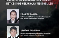 Two schoolchildren among Azerbaijani civilians killed in Armenian attack