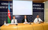 "Azerbaijani Foreign Ministry, Prosecutor General's Office issue joint statement <span class=""color_red"">[PHOTO]</span>"
