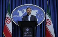 Iran denies transportation of arms through its territory