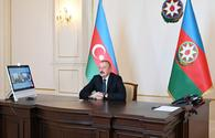 """Ilham Aliyev addresses recent clashes on frontline in interview to Rossiya-1 TV <span class=""""color_red"""">[PHOTO]</span>"""