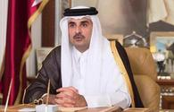 Emir of State of Qatar makes phone call to Azerbaijani president