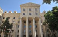 Azerbaijani Foreign Ministry issues statement in connection with shelling of civilians by Armenian armed forces