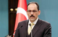 Presidential spokesman: Turkey's support to Azerbaijan - of moral, political nature