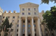 Azerbaijani Foreign Ministry comments on Armenia's fake accusations