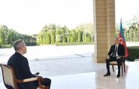 President Ilham Aliyev: We are going to the end, we didn't stop