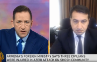 """Assistant to Azerbaijani president highlights missile attack on Ganja in interview to Al Jazeera <span class=""""color_red"""">[VIDEO]</span>"""
