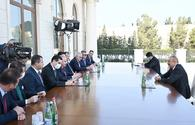 "President Aliyev: Armenia seeks to expand geography of conflict <span class=""color_red"">[UPDATE]</span>"