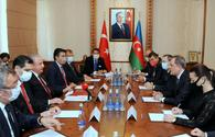 "Azerbaijani FM meets with speaker of Turkish Grand National Assembly <span class=""color_red"">[PHOTO]</span>"