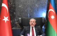 Turkish Parliament speaker: OSCE MG shows no necessary will to resolve Karabakh conflict