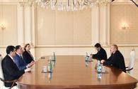 "President Ilham Aliyev receives Turkish Chief Ombudsman <span class=""color_red"">[PHOTO]</span>"