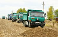 "Azerbaijan starts reconstructing roads leading to liberated villages of Tartar <span class=""color_red"">[PHOTO]</span>"