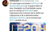"Armenians threatening to kill French TV channel's journalist <span class=""color_red"">[PHOTO]</span>"