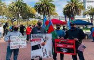 """US Azerbaijanis hold protest in San Francisco against Armenian terror <span class=""""color_red"""">[PHOTO]</span>"""