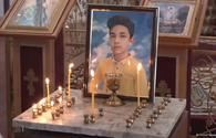 """Funeral service for 13-year-old Arthur, who died due to Armenian terror, being held in church in Ganja <span class=""""color_red"""">[PHOTO]</span>"""