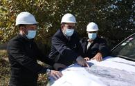 """Work on power supply to strategic facilities in freed Azerbaijani territories underway <span class=""""color_red"""">[PHOTO]</span>"""