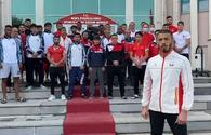 National boxers support Azerbaijani Army