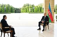 "President Ilham Aliyev interviewed by Russian Interfax agency <span class=""color_red"">[PHOTO]</span>"