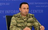 MoD: Azerbaijani army uses modern technological weapons