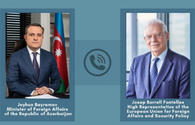 Azerbaijani foreign minister, EU official mull latest situation in Nagorno-Karabakh
