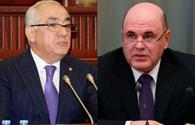 Azerbaijani, Russian PMs mull railway development in South Caucasus