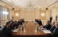 "President Aliyev lauds Russian, Turkish leaders for boosting South Caucasus security <span class=""color_red"">[PHOTO]</span>"