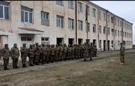 Army units raise Azerbaijani flag in liberated Aghdam's village