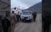 "Azerbaijani servicemen help Armenians to move belongings from villages of Aghdam district <span class=""color_red"">[VIDEO]</span>"