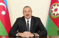 "President Aliyev congratulates nation on Kalbajar's liberation <span class=""color_red"">[UPDATE]</span>"