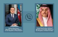 Azerbaijani, Saudi FMs exchange views on current situation in Karabakh