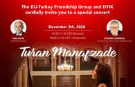 "Turan Manafzade to give virtual concert <span class=""color_red"">[VIDEO]</span>"