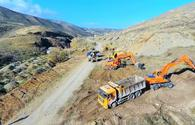 "Azerbaijan to commission road connecting Tartar and Sugovushan in coming days - ANAMA <span class=""color_red"">[PHOTO]</span>"