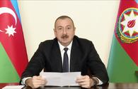 "President Ilham Aliyev congratulates Azerbaijanis on liberation of Lachin <span class=""color_red"">[UPDATE]</span>"