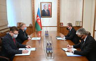 Azerbaijani FM, outgoing Belarus envoy mull strategic partnership, Karabakh war