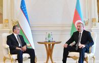 President of Uzbekistan makes phone call to President Ilham Aliyev