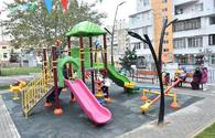 "New yard successfully renovated in Baku's district <span class=""color_red"">[PHOTO]</span>"