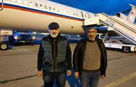 """Two hostages arrive in Baku after President Aliyev secures their release from Armenian capitivity <span class=""""color_red"""">[UPDATE]</span>"""