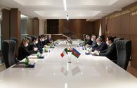 "Azerbaijan, Italy mull cooperation on electricity supply to liberated territories <span class=""color_red"">[PHOTO]</span>"
