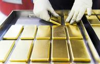 Gold price in Azerbaijan decreases