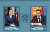 Azerbaijani, Kyrgyz FMs exchange views on expanding bilateral co-op