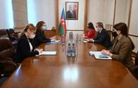 """Azerbaijani FM, head of ICRC delegation discuss current situation in region <span class=""""color_red"""">[PHOTO]</span>"""