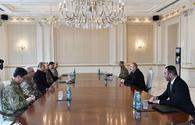 """President Ilham Aliyev receives delegation led by Turkish Minister of National Defense <span class=""""color_red"""">[UPDATE]</span>"""