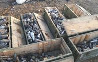 """Unexploded mines, banned ammunition rendered harmless in Aghdam <span class=""""color_red"""">[PHOTO]</span>"""